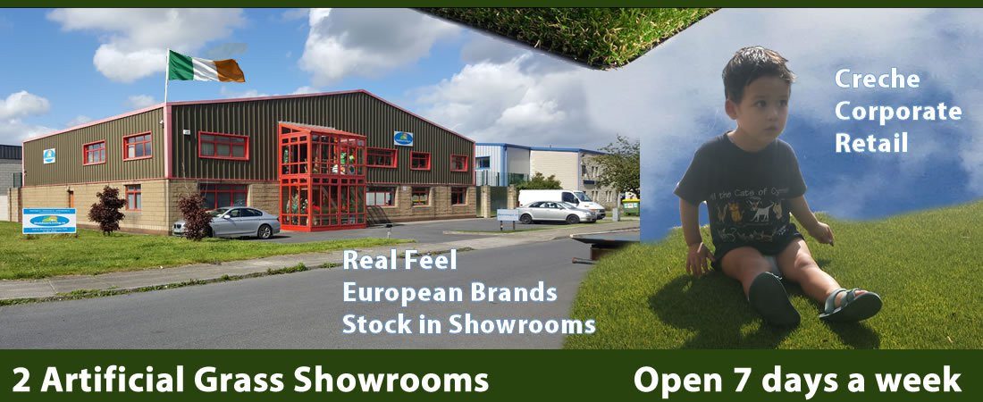 Artificial Grass Showroom Ireland